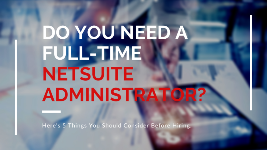 netsuite administrator