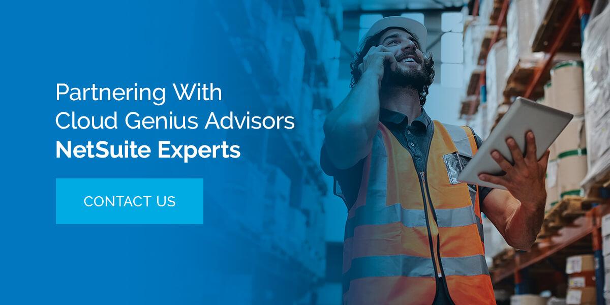 Partnering With Cloud Genius Advisors NetSuite Experts